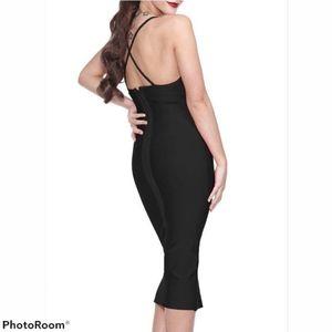 THE KEWL SHOP Authentic Bodycon Bandage Dress